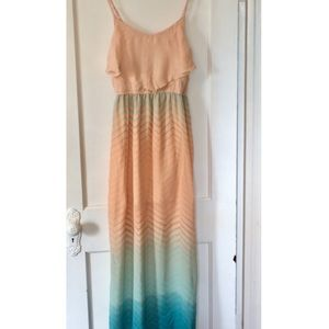 ☀️ Cute Ombré Summer Maxi Dress ☀️
